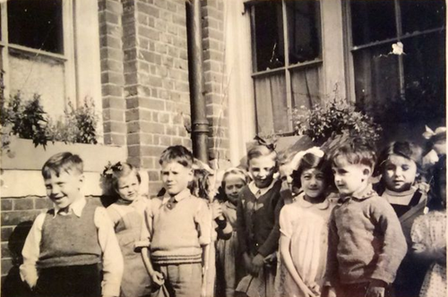 Surrey Square Primary School c1953-54.  1  X.png