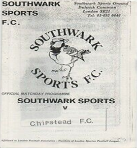 Southwark Borough FC was formed in 1975 as Southwark Sports FC.  1  X.png