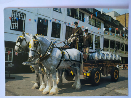Whitbread Shire Horses at Work, The George Southwark, 1980's.   X.png