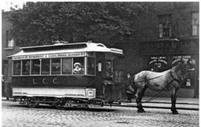 Last Horse Tram tram to run in South London400.jpg
