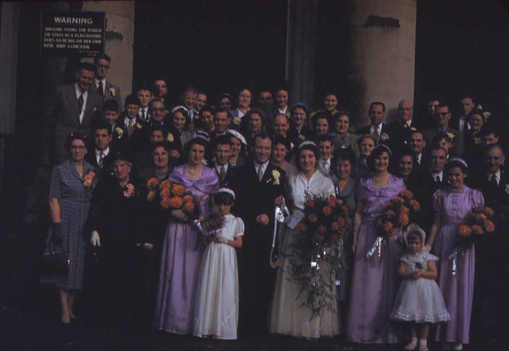 My Mum and Dad's Wedding on 2nd October 1954 at St. James's Church (ianmartin) 1.jpg