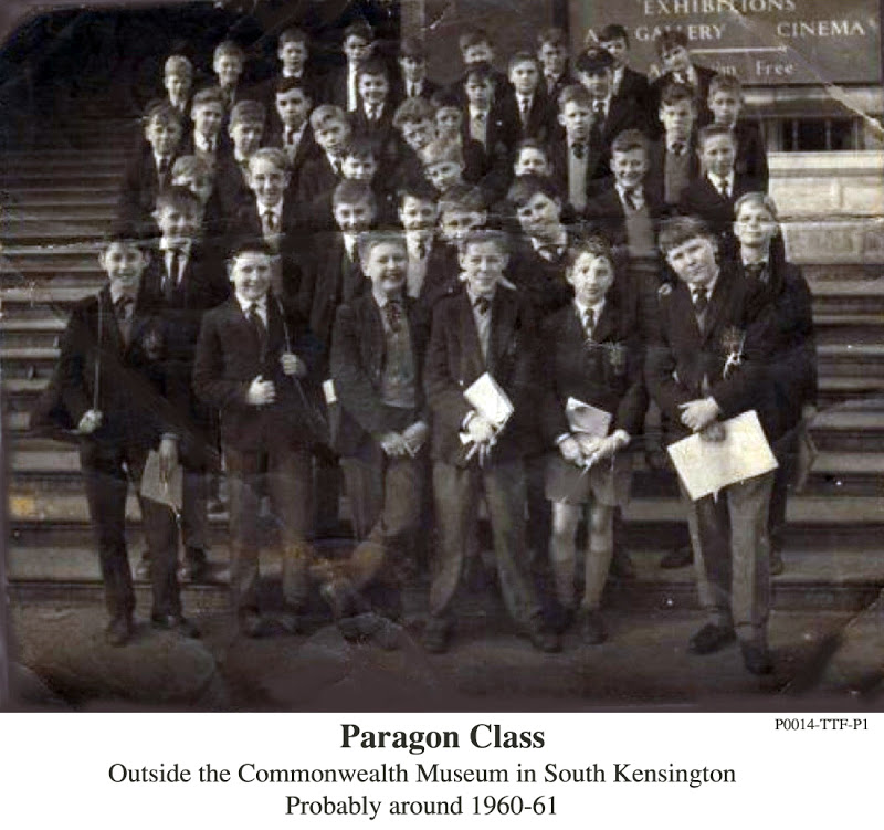 P0014-TTF-P1 Paragon class Taken outside the Commonwealth Museum in South Kensingtonprobably around1960-61Put a Name to the face.jpg