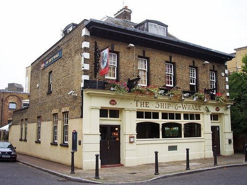 Ship & Whale Pub.Gulliver St. Rotherhithe..jpg