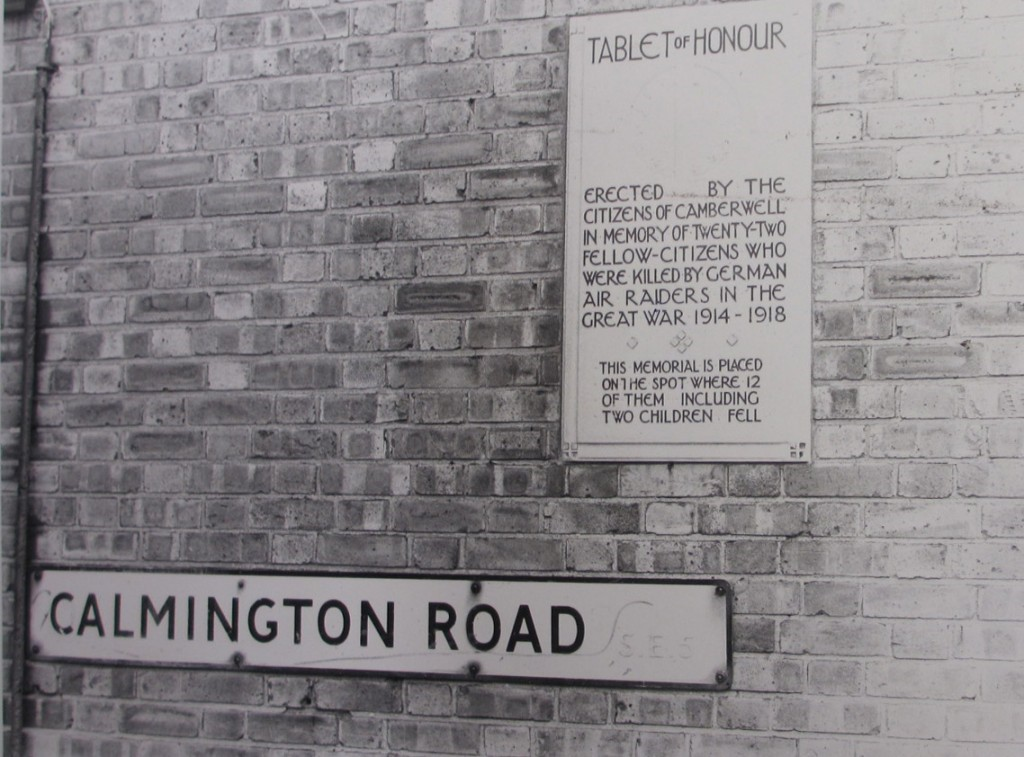 Calmington Road, Plaque..jpg