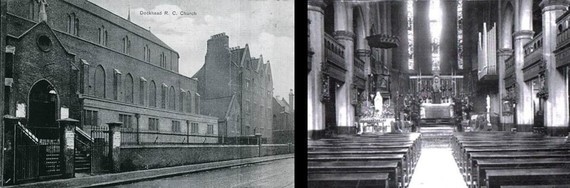 Holy Trinity Church,Dockhead. 1945.jpg