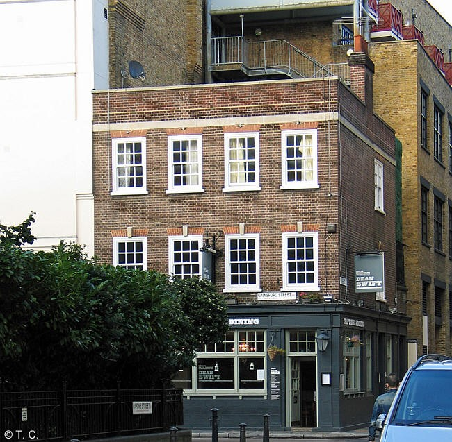 Bricklayers Arms, 10 Gainsford Street, SE1 now called Dean Swift - 2014.jpg