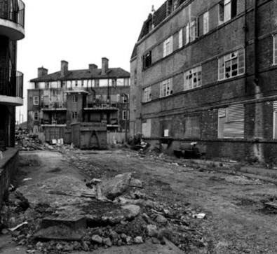 Redriff Estate,Rotherhithe. In the 1980s these flats were derelict.jpg
