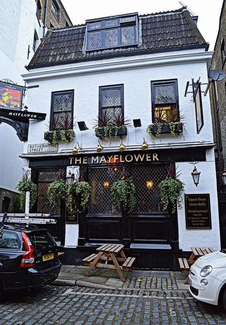 The Mayflower Inn, Rotherhithe,  The oldest pub on the River Thames.jpg
