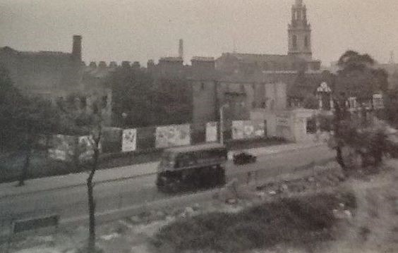 Jamaica Road Bermondsey from Spenlow House in 1950's X.jpg