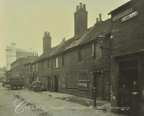 Blue Anchor Lane Bermondsey in 1928  X.jpg