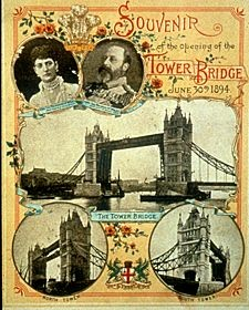 The original invite to the opening of Tower Bridge… X.jpg