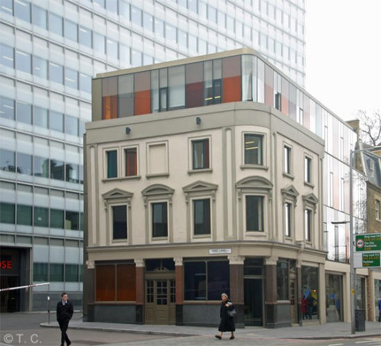 Antigallican Pub, 155 Tooley Street 2011.jpg
