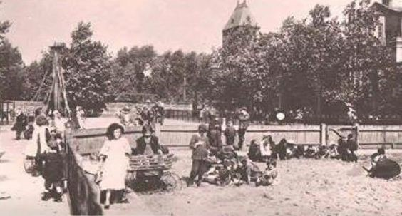Children's Recreation Ground in Southwark Park Bermondsey in 1908  X.jpg