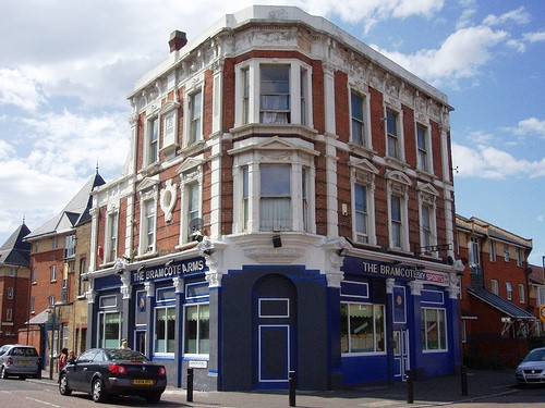 Bramscote Arms, 2008, OFF  ILDERTON ROAD, this pub closed in 2012.jpg