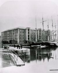 No. 1 warehouse, South Dock at Surrey Commercial Docks.jpg
