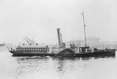 Smallpox Ambulance ship, Geneva Cross, South Wharf..jpg