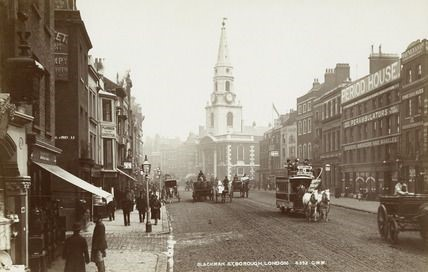 Blackman Street before it became Borough High Street c 1890.jpg