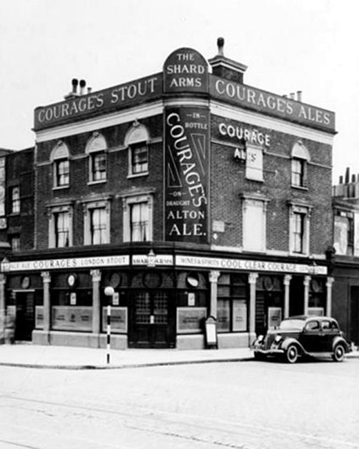Shard Arms, 610 Old Kent Road - c 1950s   X.jpg