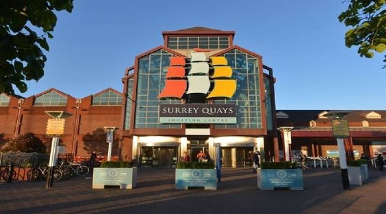 SURREY QUAYS SHOPPING CENTRE, REDRIFF ROAD.  2017 X.jpg