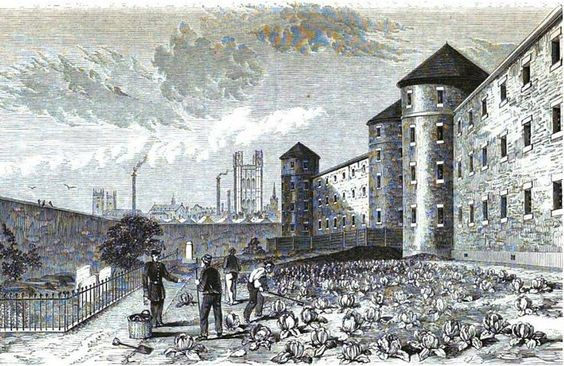 HORSEMONGER LANE JAIL now called Harper Road,Southwark.opened 1790s closed in1887.jpg