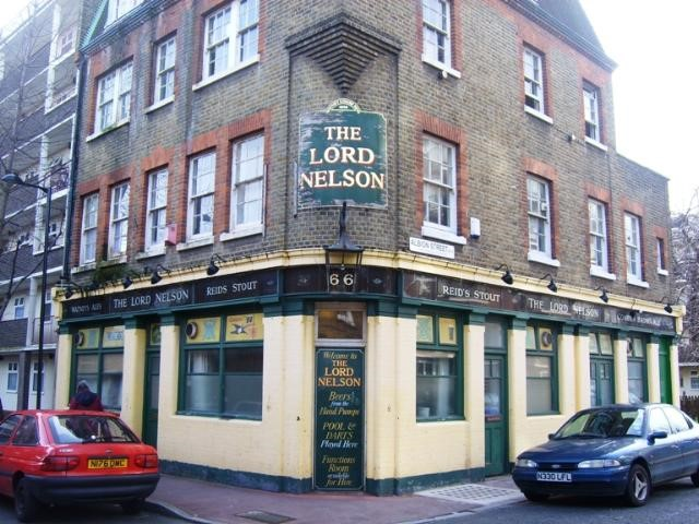 CANON BECK ROAD,THE LORD NELSON PUB. ON CORNER WITH ALBION STREET X.jpg