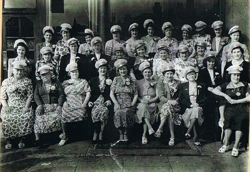 My Nan Kate Oliver bottom row second from left..jpg