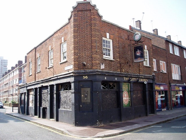 THE LITTLE CROWN  56 ALBION STREET ROTHERHITHE.2016   X.jpg