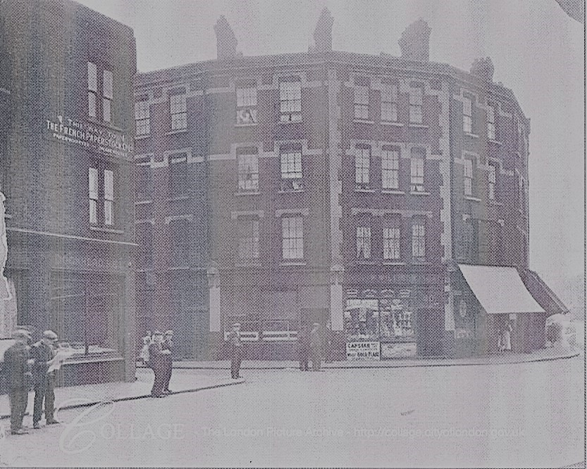 HICKMANS FOLLY CORNER OF PARKERS ROW.1927..jpg