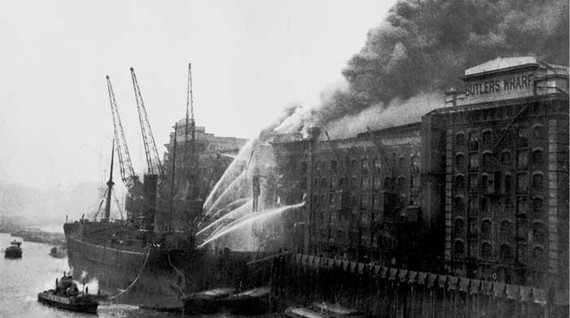 Butlers Wharf fire,Tooley St..jpg