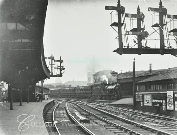 LONDON BRIDGE TRAIN STATION, BERMONDSEY 1913..jpg