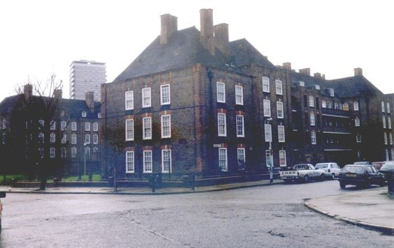 George Row,Dickins Estate 1988.jpg
