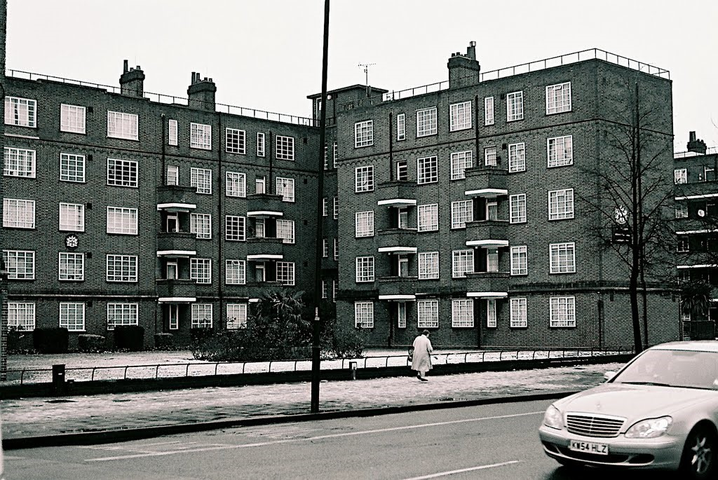 Avondale Square, Old Kent Road, my brother-in-law George Hazell's parents lived in one of these flats, 1940s to the late 1960s.  X.jpg