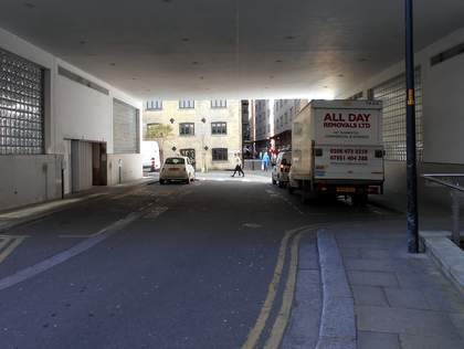 Film Clegg, Shad Thames, same place., Maguire street on left (2016).jpg