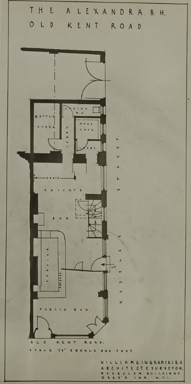 Alexandra pub plans,Old Kent Road.jpg