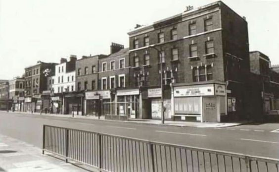 Old Kent Road, Rowcross Street on the right..jpg