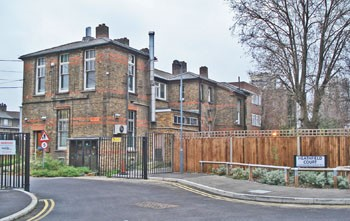 Avonley Road, New Cross Hospital site, now Heathfield Court.jpg