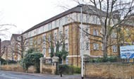 Avonley Rd, site of New Cross Hospital, one of the original hospital buildings..jpg