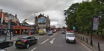 Albany Road 2017, still see the Fire station building left and the Thomas A Becket Pub on the corner with Old Kent Road..jpg