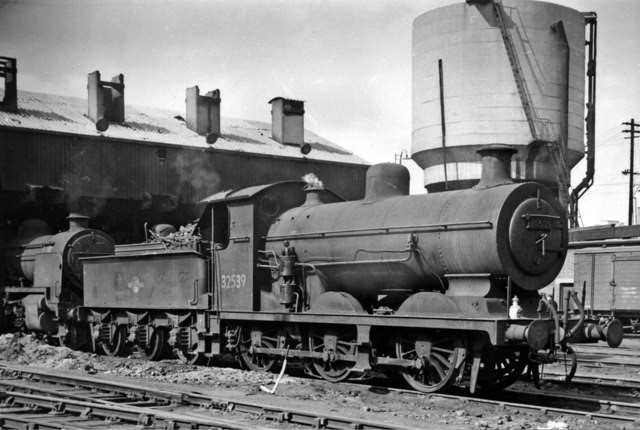 Bricklayer's Arms Locomotive Depot 1959. No. 32539 built in 1900, rebuilt in June 1924 and withdrawn in 1961..jpg