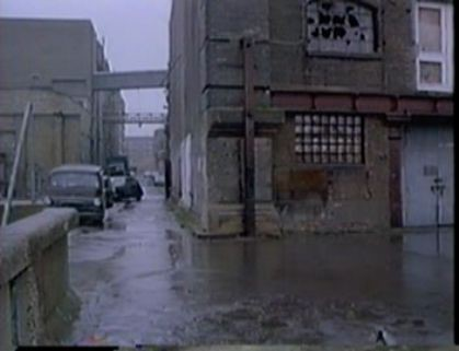 Film Give My Regards to Broad Street 1984 Butlers Wharf, looking towards Shad Thames & Curlew Street.jpg