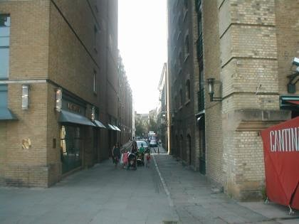 Film Give My Regards to Broad Street. Same location 2012 X.jpg
