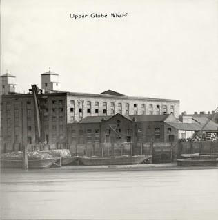 Globe Upper Globe Wharf, with one of the rice chutes 1937  X.jpg