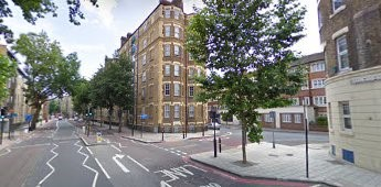 Tooley Street 2009, same location, Devon Mansions..jpg