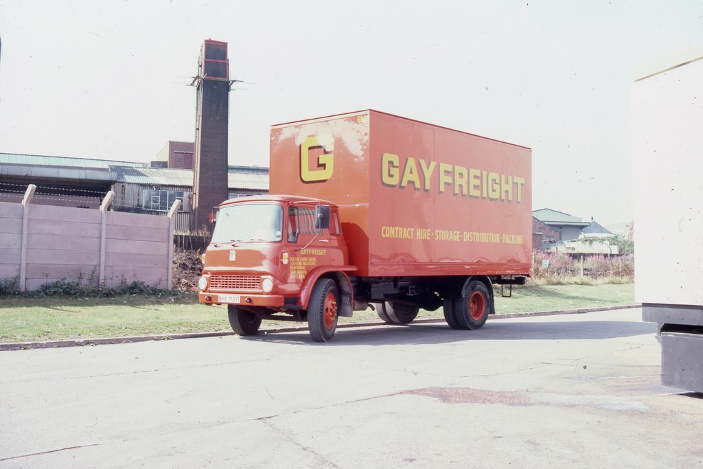 Gayfreight Transport, Bermondsey-Rotherhithe, 1984..jpg