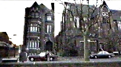 FILM Last of the Blonde Bombshells, 2000, Lynton Road opposite Camilla Road, the church was St. Augustine's Parish Church X.jpg