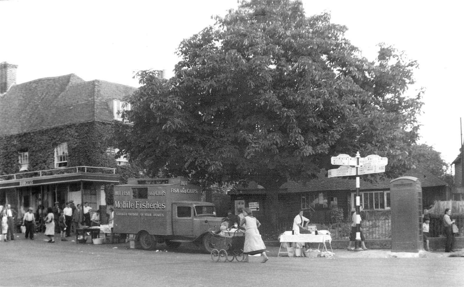 Goudhurst High Street. Who remembers the mobile fish shop.  X.jpg
