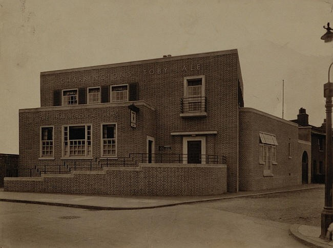 Marlborough Arms, 77 Marlborough Road, now Grove. Demolished in 2004 and replaced with flats..jpg