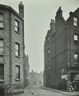 Little Hunter Street from Tabard Street c 1913..jpg