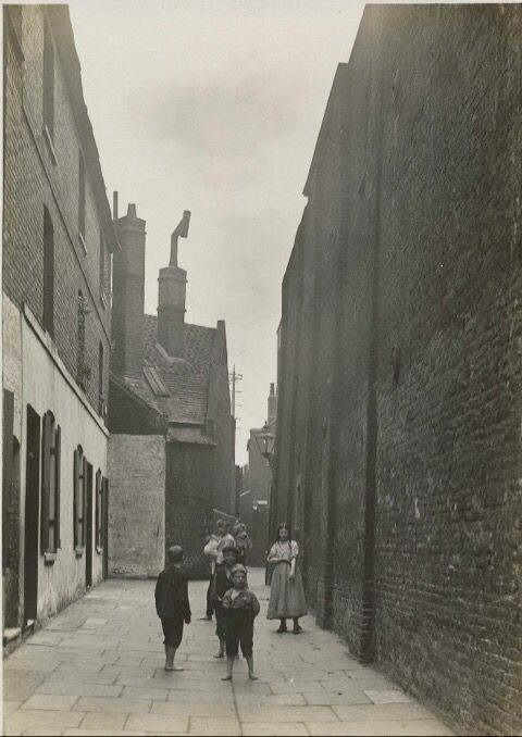 Outside of the Marshalsea Prison, during the time of Charles Dickens..jpg