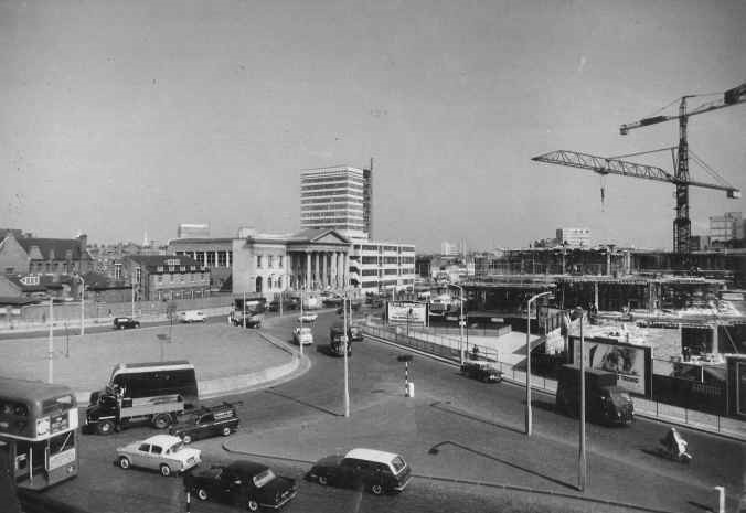 Elephant and Castle during redevelopment, 1963.jpg
